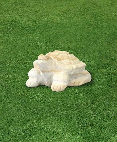 pískovcová zahradní dekorace želva