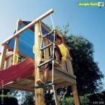 zahradní dětský provazový žebřík Modul 1-step