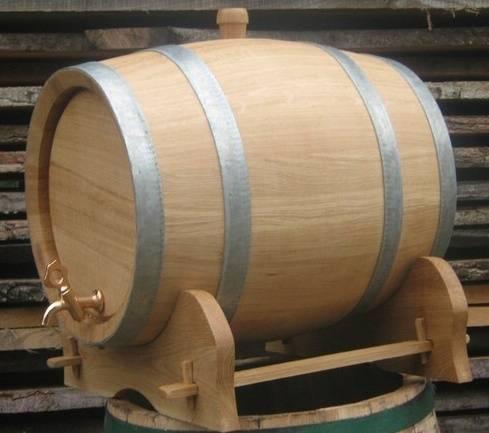dubový soudek na alkohol 30 litrový