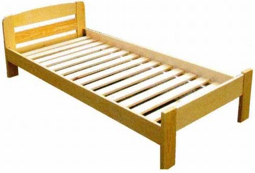 jednolůžková postel dřevěná Redon chalup