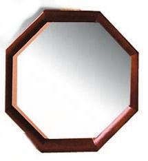 dřevěné zrcadlo z masivního dřeva borovice 45LSO 40x40 drewfilip