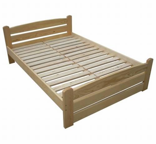 jednolůžková postel dřevěná Standart chalup