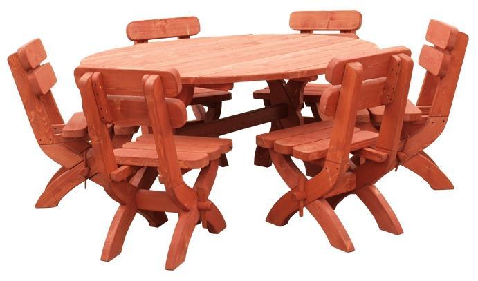 dřevěný zahradní nábytek set K05 jandr