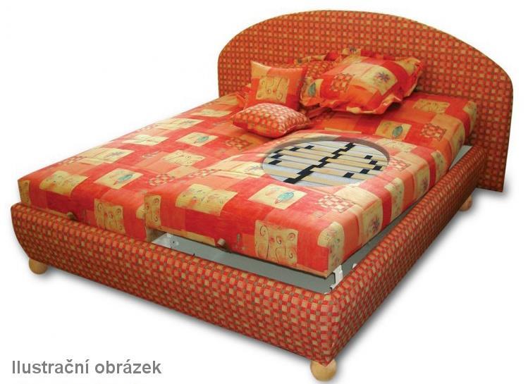 dvojlůžková čalouněná postel Adriana pol
