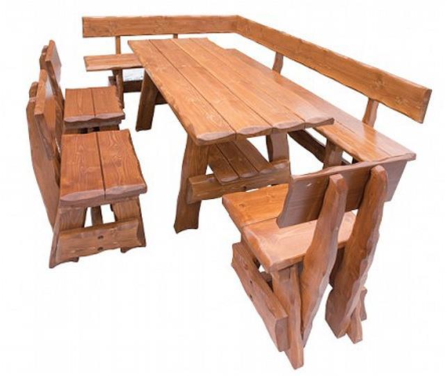 zahradní nábytek dřevěný MO264 pacyg