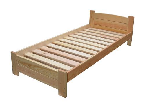 ednolůžková postel dřevěná Aston chalup