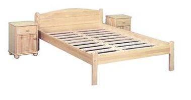 jednolůžková postel dřevěná Marsylia chalup