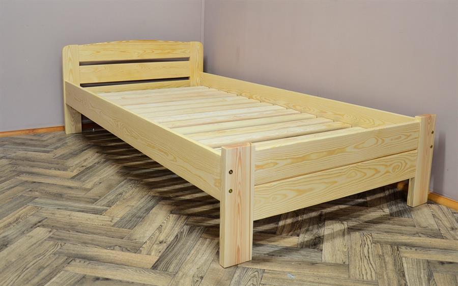 dvojlůžková postel dřevěná Redon chalup