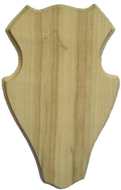 podložka pod trofej, dřevořezba 2 kryn