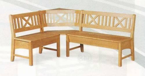 1553f93a8c dřevěná rohová jídelní lavice z masivního dřeva borovice Berlin ...