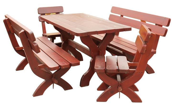 dřevěný zahradní nábytek set K03 jandr