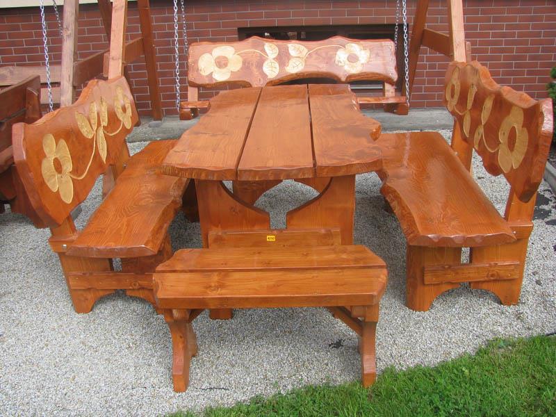 zahradní nábytek dřevěný Řezba 3 botodre
