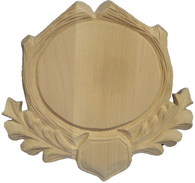 podložka pod trofej, dřevořezba 7 kryn