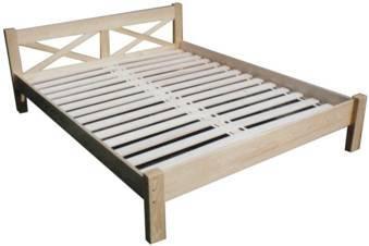 dvojlůžková postel dřevěná Kaja chalup