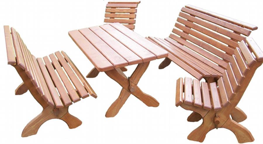 zahradní nábytek dřevěný Park drewbo