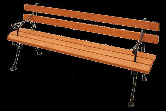 dřevěná zahradní lavice z masivního dřeva K030 jandr