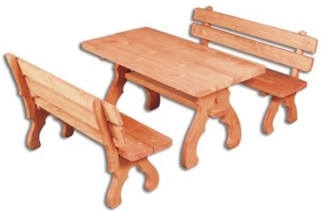 dřevěný zahradní nábytek set MO 106