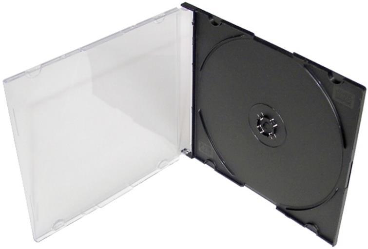 Obal na 1CD SLIM černý