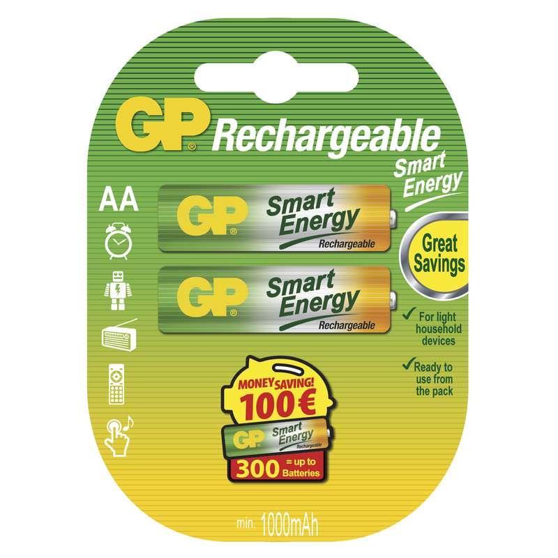 Nabíjecí baterie GP SmartEnergy HR6 (AA), 2 ks v blistru