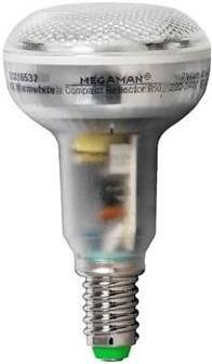 MEGAMAN COMPACT REFLEKTOR E14 7W  BR0907i