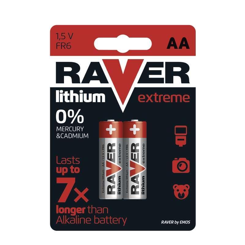 RAVER Extreme LITHIUM AA 2ks blistr
