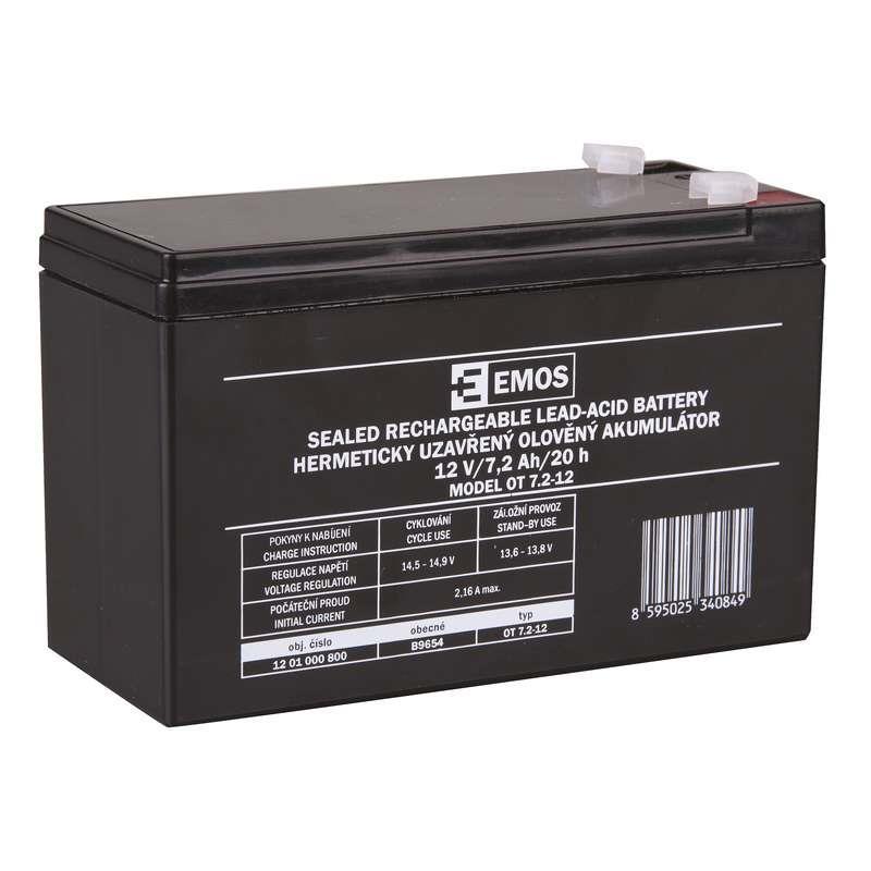 Pb akumulátor MHB VRLA AGM 12V/7,2Ah