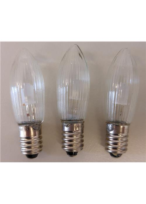 LED žárovka pro svícen 34V/0,25W, balení 16 ks