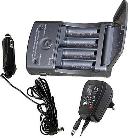 Nabíječka automat MW2078-A 2-4xAA/AAA Imax0,8A