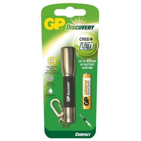 LED svítilna GP LCE202 + 1 x AAA baterie GP Ultra