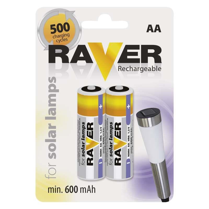 Raver baterie nabíjecí HR6 (AA), blistr 2ks