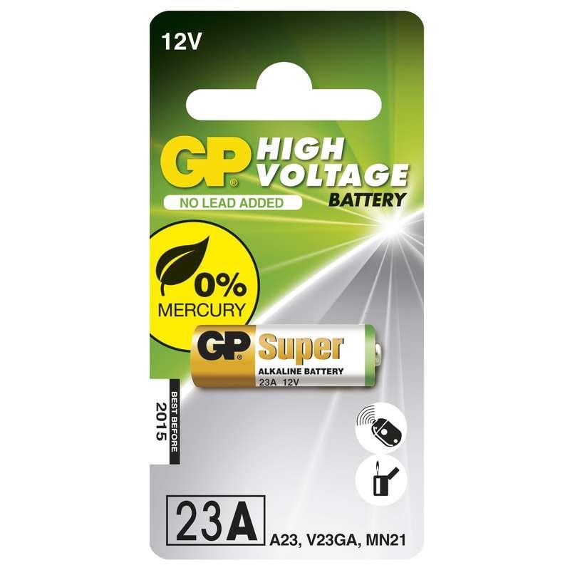 Alkalická speciální baterie GP 23AF, blistr