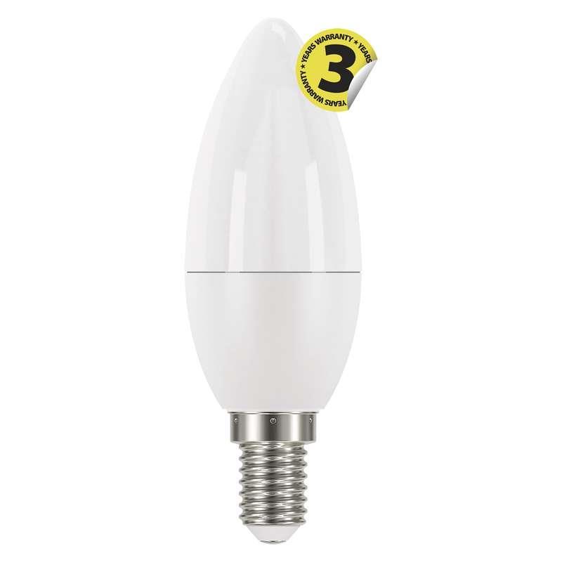 LED žárovka Classic Candle 6W E14 teplá bílá