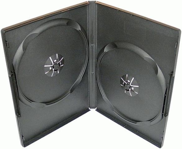 Obal na 2 DVD, černý