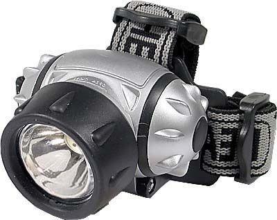 Svítilna LED 1W,čelovka,napáj.3xAAA