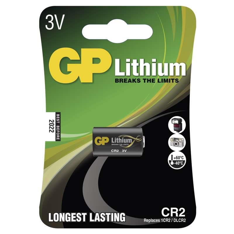Baterie GP CR2 3V lithiová