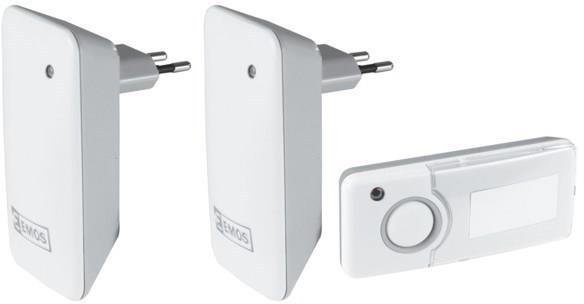 Domovní bezdrátový zvonek P5710G-2R