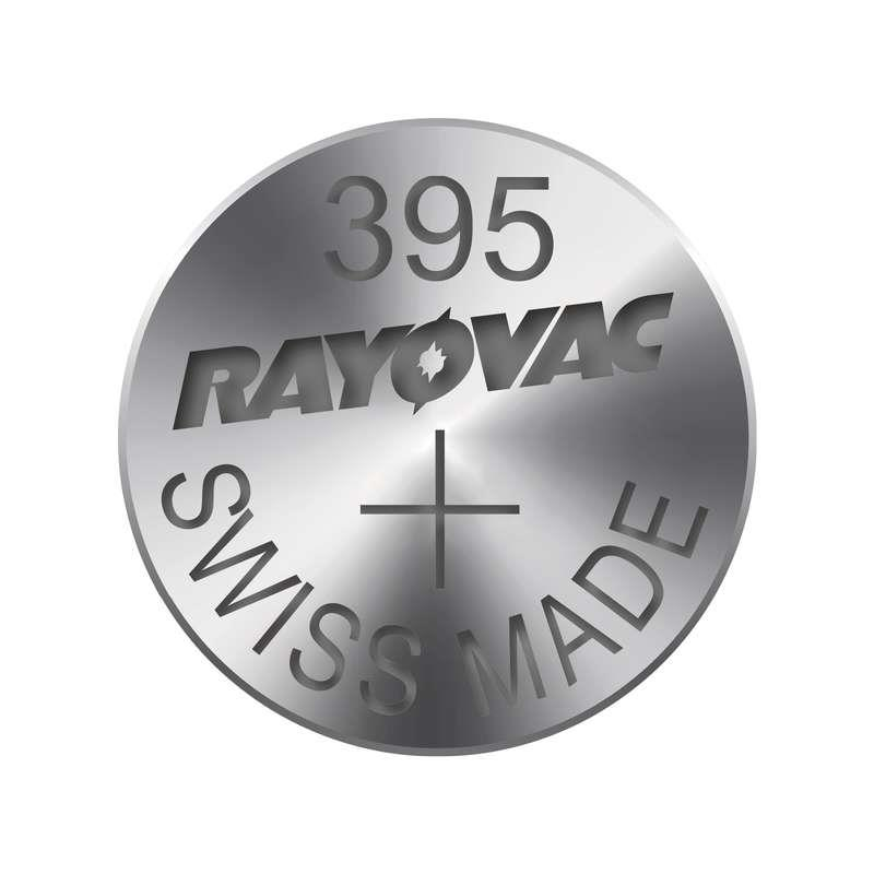 Knoflíková baterie do hodinek RAYOVAC 395 1ks