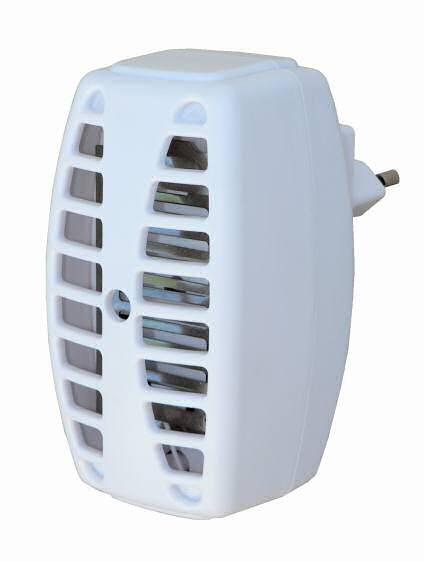 Lapač hmyzu s LED diodou hubič Hutermann IK-01