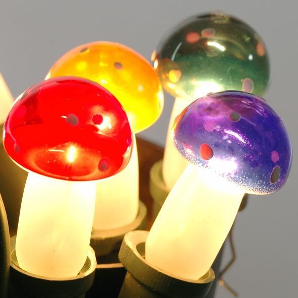 Žárovka 20V/0,1A MUCHOMŮRKA barevná