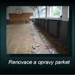 Renovace a opravy parket